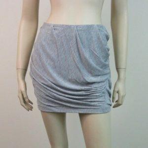 Diane Von Furstenberg Navarette Sz 10 Grey Skirt